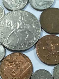 Old coin 36pcs