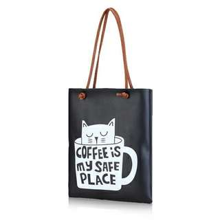Coffee is My Safe Place Shoulder Bag