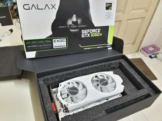 Galax Gtx 1050ti Exoc White 4GB ddr5 128bit