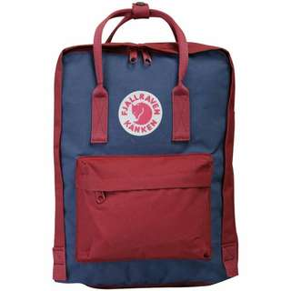 [IN-STOCK] Kanken Royal Blue/Ox Red Classic