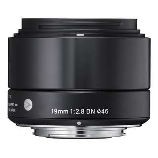 Sigma 19mm f/2.8 DN Lens for Sony E-mount Cameras (Black)