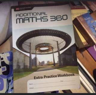 Additional Maths 360 Workbook
