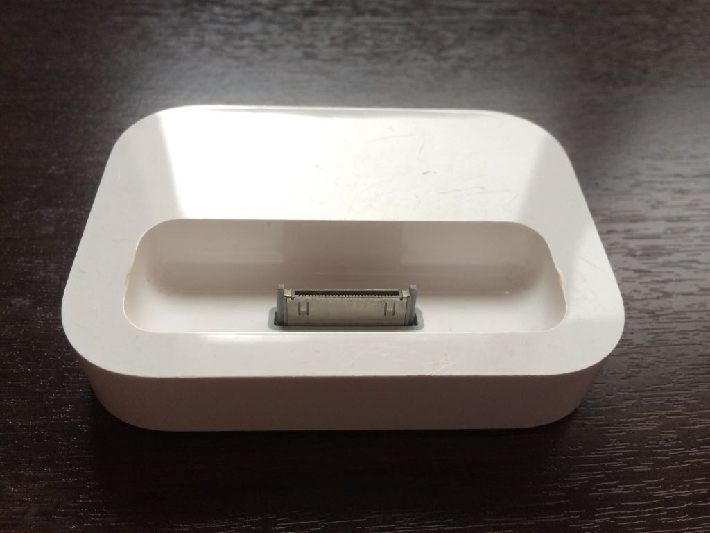 2 - Battery Power Pack + iPhone original authentic dock