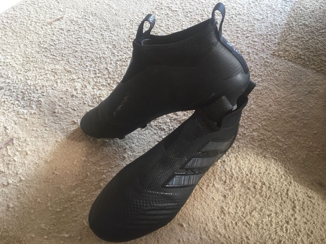 6b3fd454504c Adidas Ace 17+ Purecontrol FG Football Boots, Sports, Athletic & Sports  Clothing on Carousell