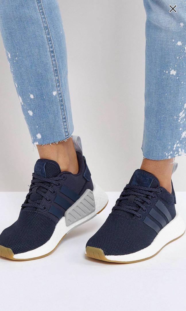 4648d8394 Adidas women nmd r2 navy blue