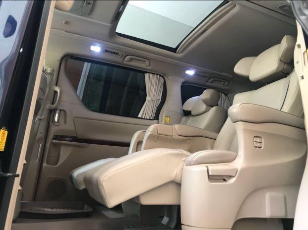 ALPHARD G ATPM PILOTSEAT 57rb KM pilot seat TERMEWAH, Mobil & Motor, Mobil  untuk Dijual di Carousell