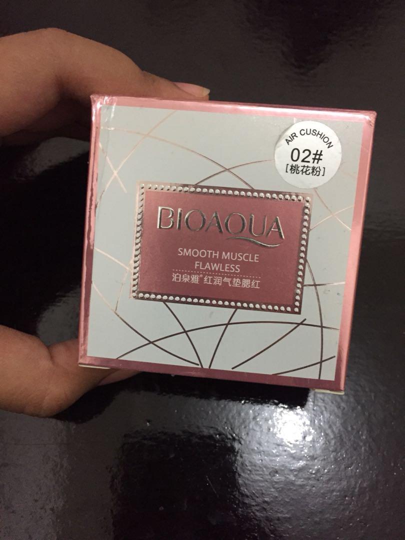 Bioaqua Blush On Cushion Kesehatan Kecantikan Rias Wajah Di Smoot Muscle Flawless Carousell
