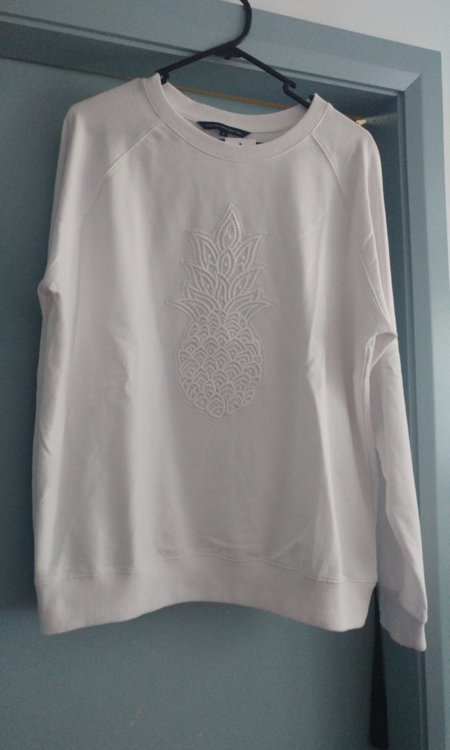 BNWT French Connection pineapple jumper