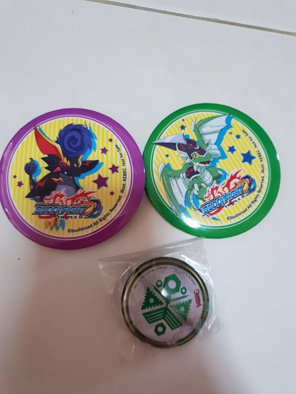 Buddy Fight Badges