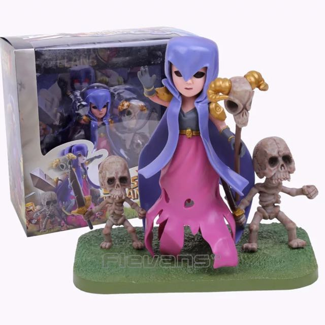 Clash Royale / Clash Of Clans Witch Collectible Action Figure / Toys