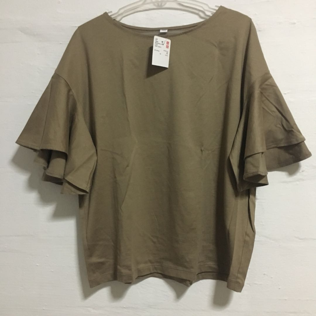 Cotton Flare Short Sleeves