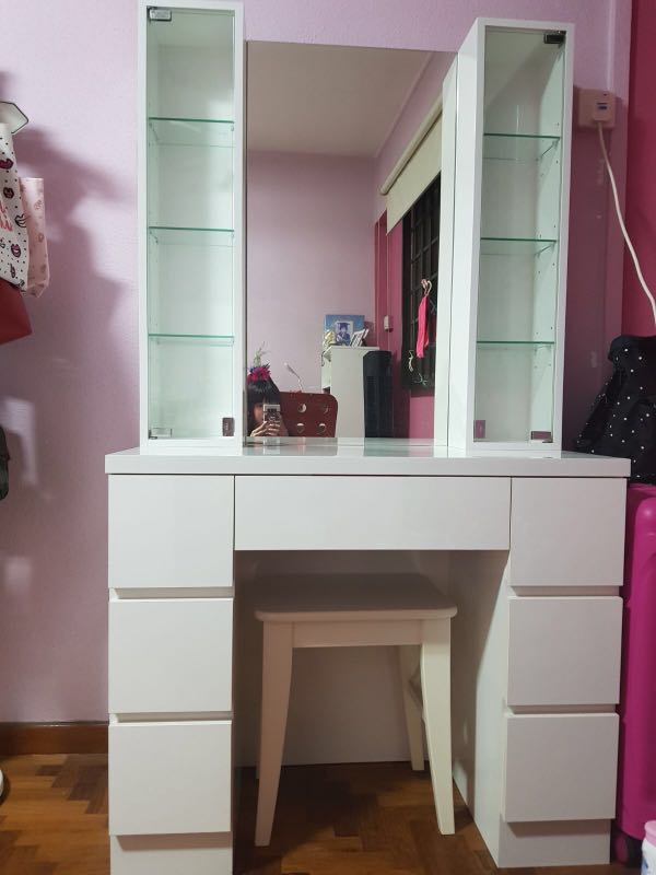 official photos eed24 622c6 Custom make Dressing Table, Furniture, Shelves & Drawers on ...