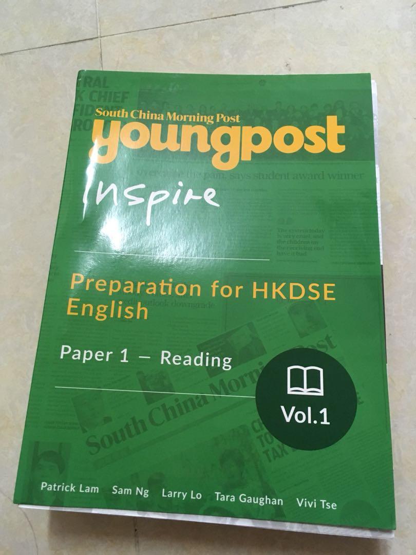 DSE Eng paper 1 exercise(SCMP reading)