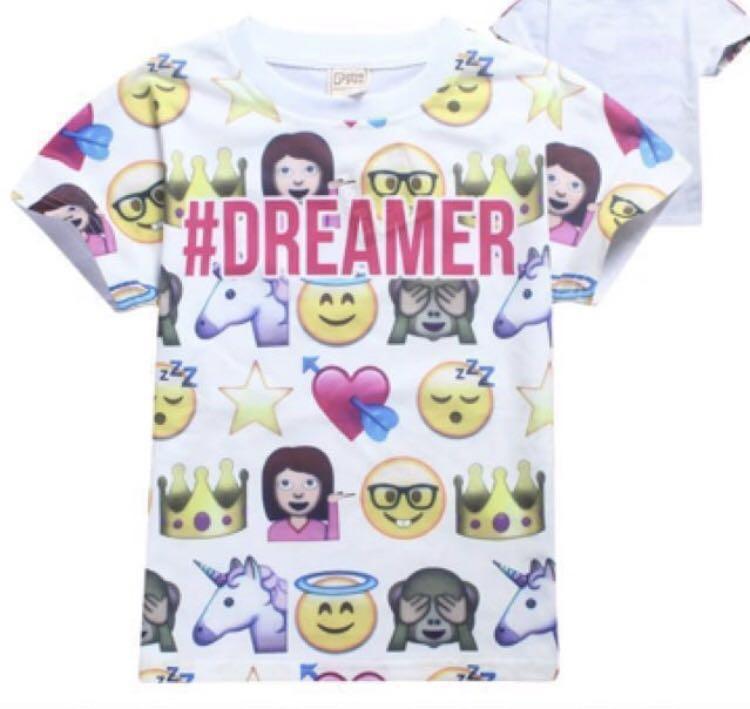 Emoticon T-shirt age 7-9