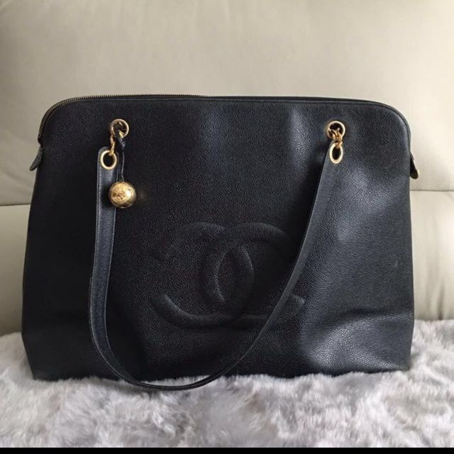 c2b24d013d13 Fast deal at $1.5k Only Chanel caviar XL diaper bag, Luxury, Bags & Wallets  on Carousell
