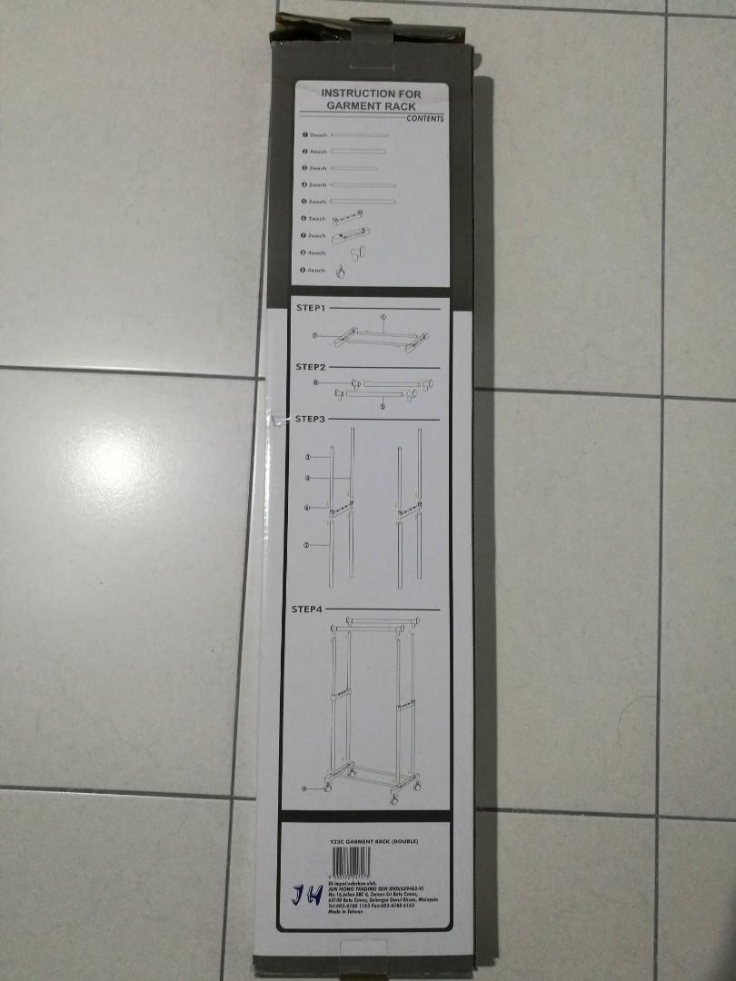 Allunique New Lemari Pakaian Portable Salur Ungu Daftar Harga Source · Lemari Pakaian Portable 2 Layer