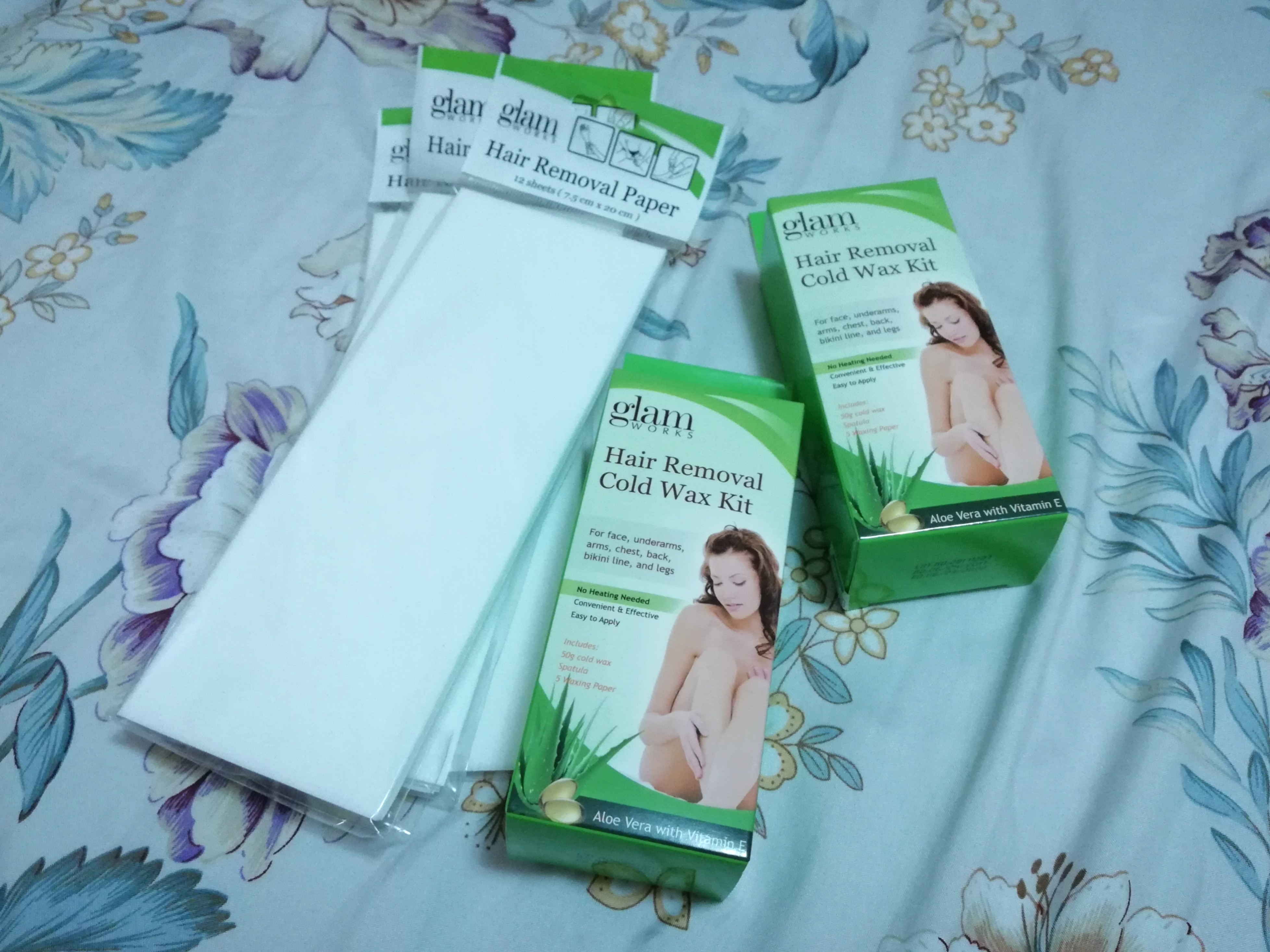 Hair Removal Cold Wax Kit Bundle Health Beauty Skin Bath