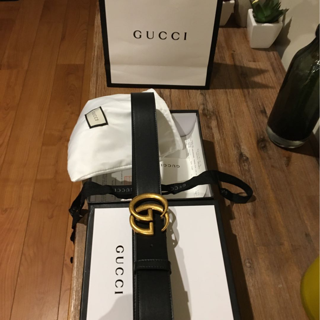 GUCCI Marmont Belt (+ paper bag, pouch, ribbon, booklet & receipt)