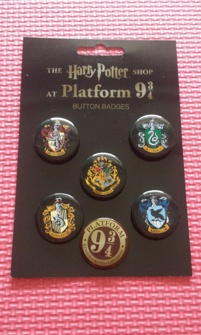 Harry Potter At Platform 9 34 Button Badges Toys Games Others