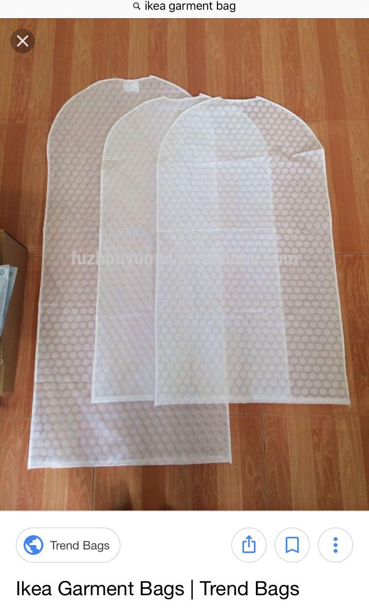Ikea Garment Bag Women S Fashion