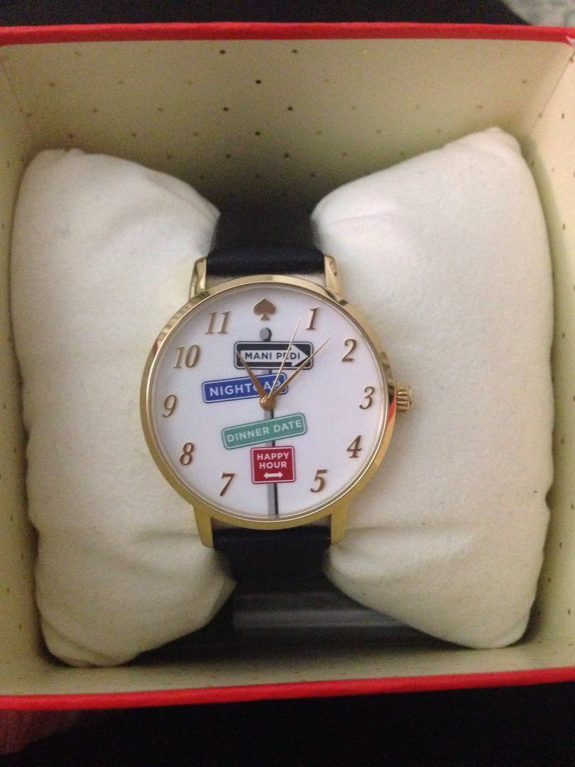 New Kate Spade Leather Watch