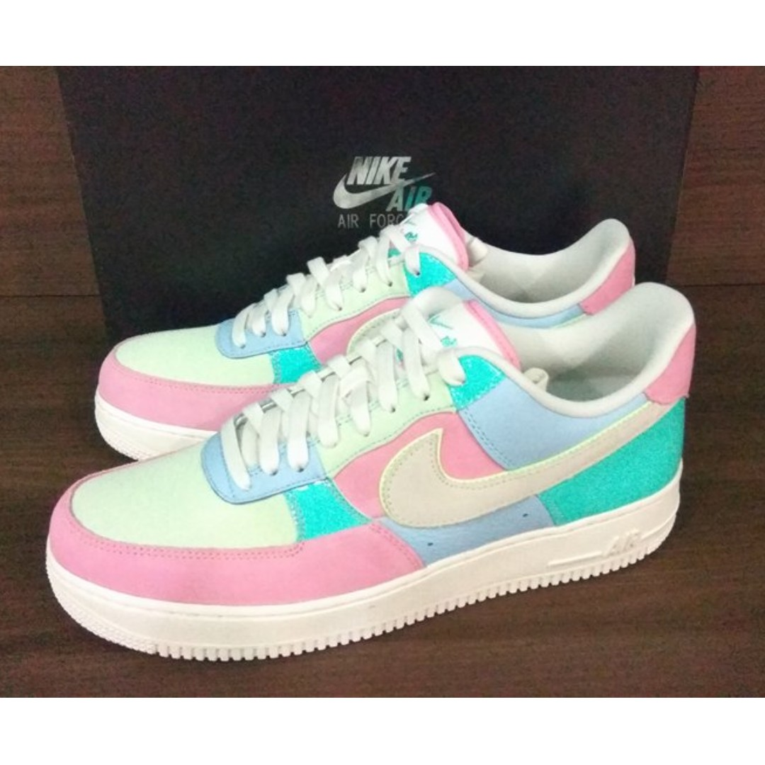 purchase cheap 77997 446d5 Nike Air Force 1 Low Easter, Men s Fashion, Footwear, Sneakers on Carousell