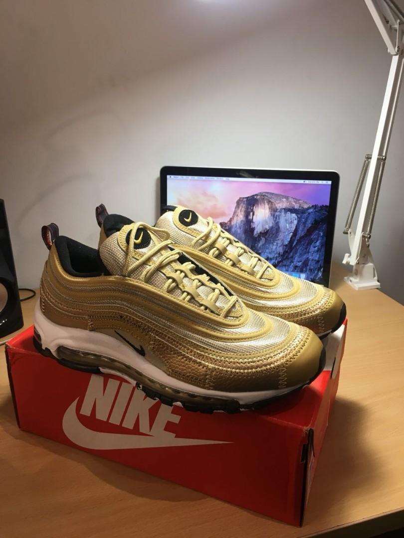 19fb62385abe Nike Air Max 97 Gold
