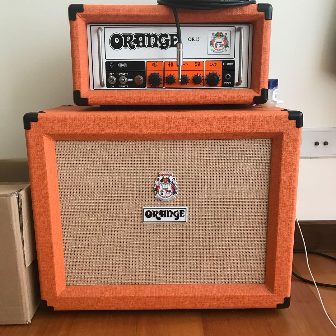 Orange 60 Watt 1x12 Cabinet Only Ppc112 Music Media Music