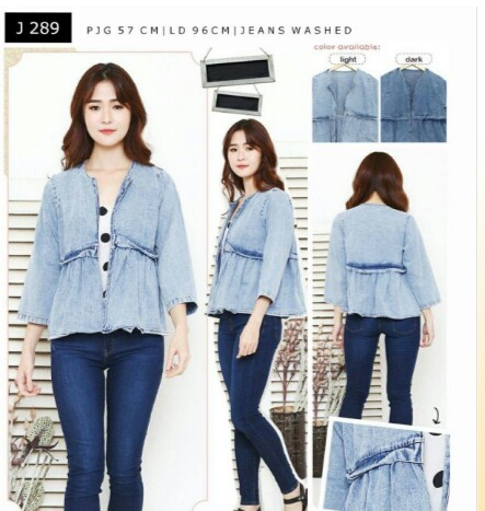 Outer jeans cantik