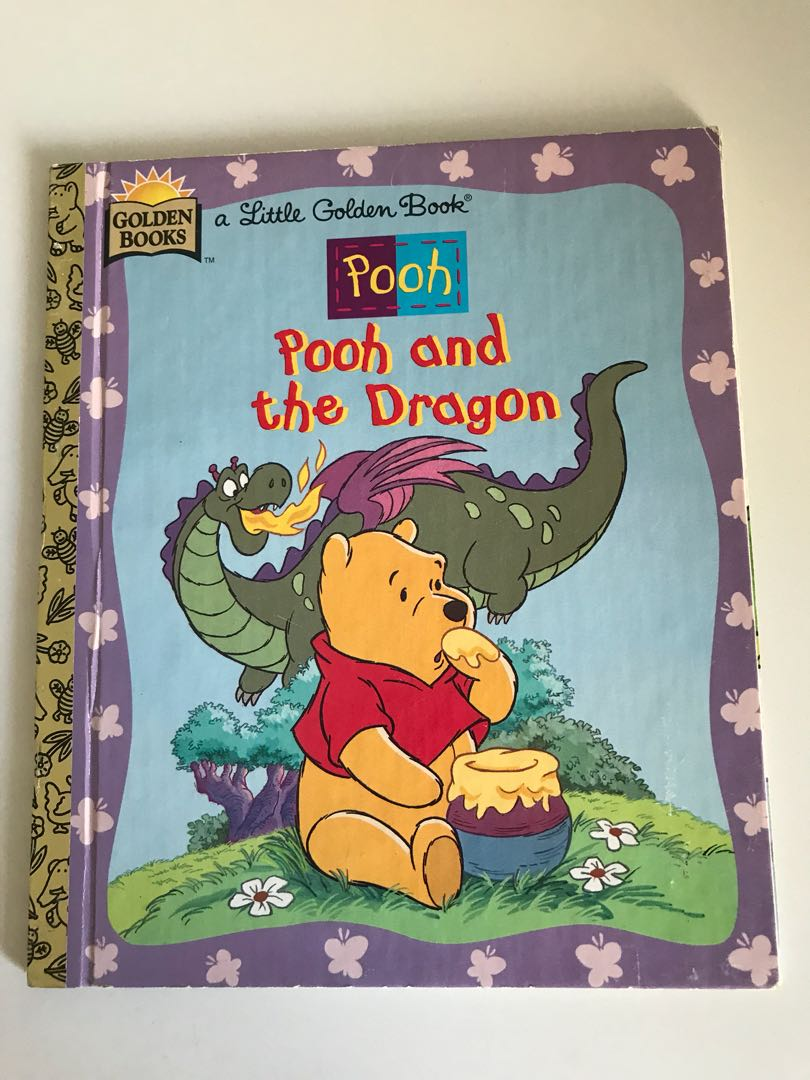 Pooh - Pooh And The Dragon - Little Golden Book