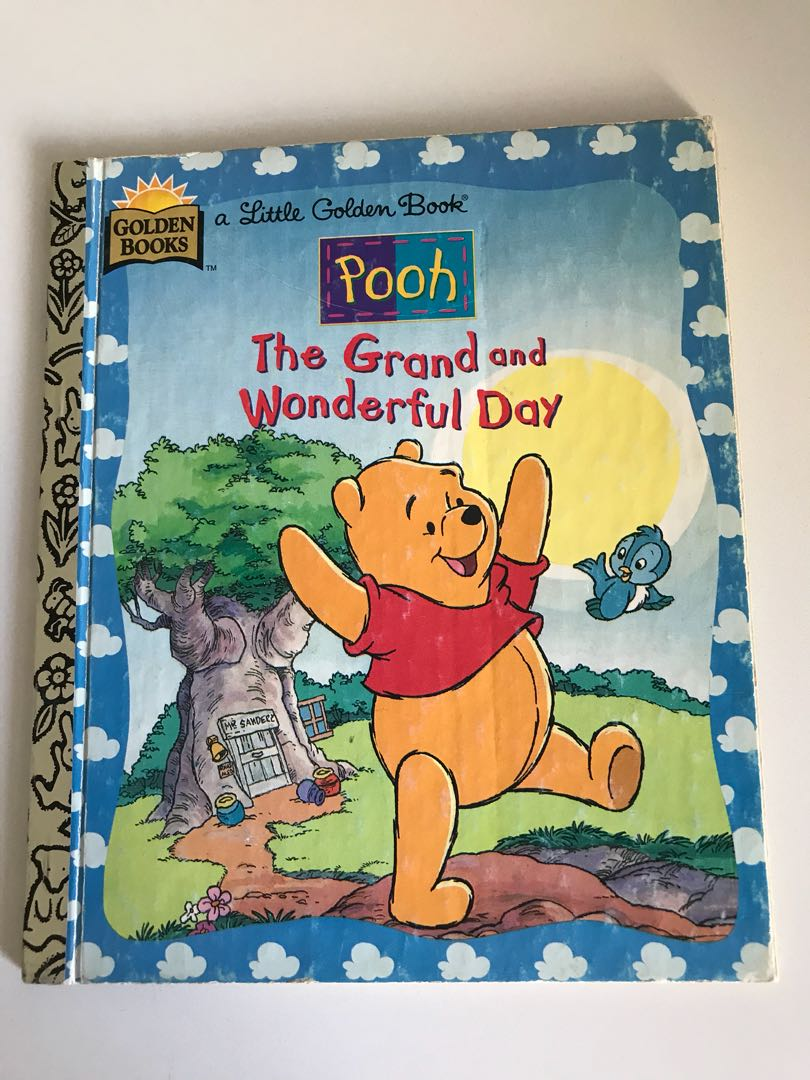 Pooh - The Grand And Wonderful Day - Little Golden Book