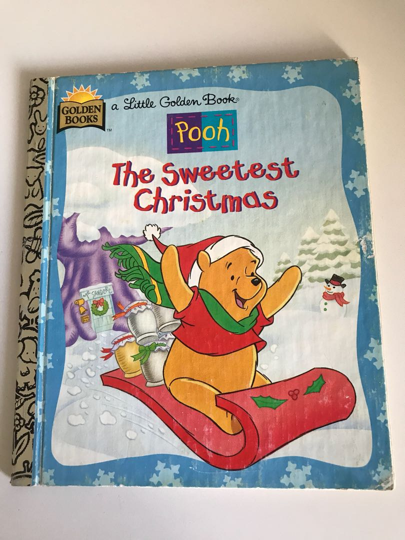 Pooh - The Sweetest Christmas - Little Golden Book