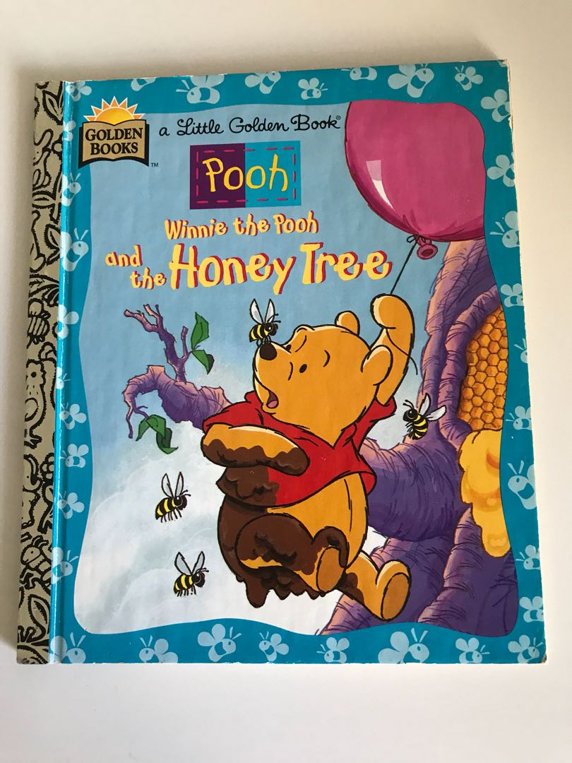 Pooh - Winnie The Pooh And The Honey Tree - Little Golden Book