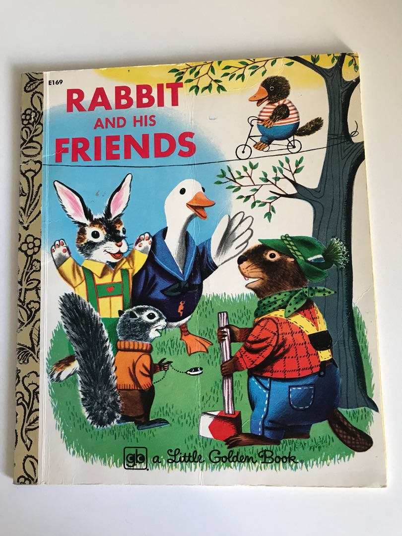Rabbit And Friends - Little Golden Book