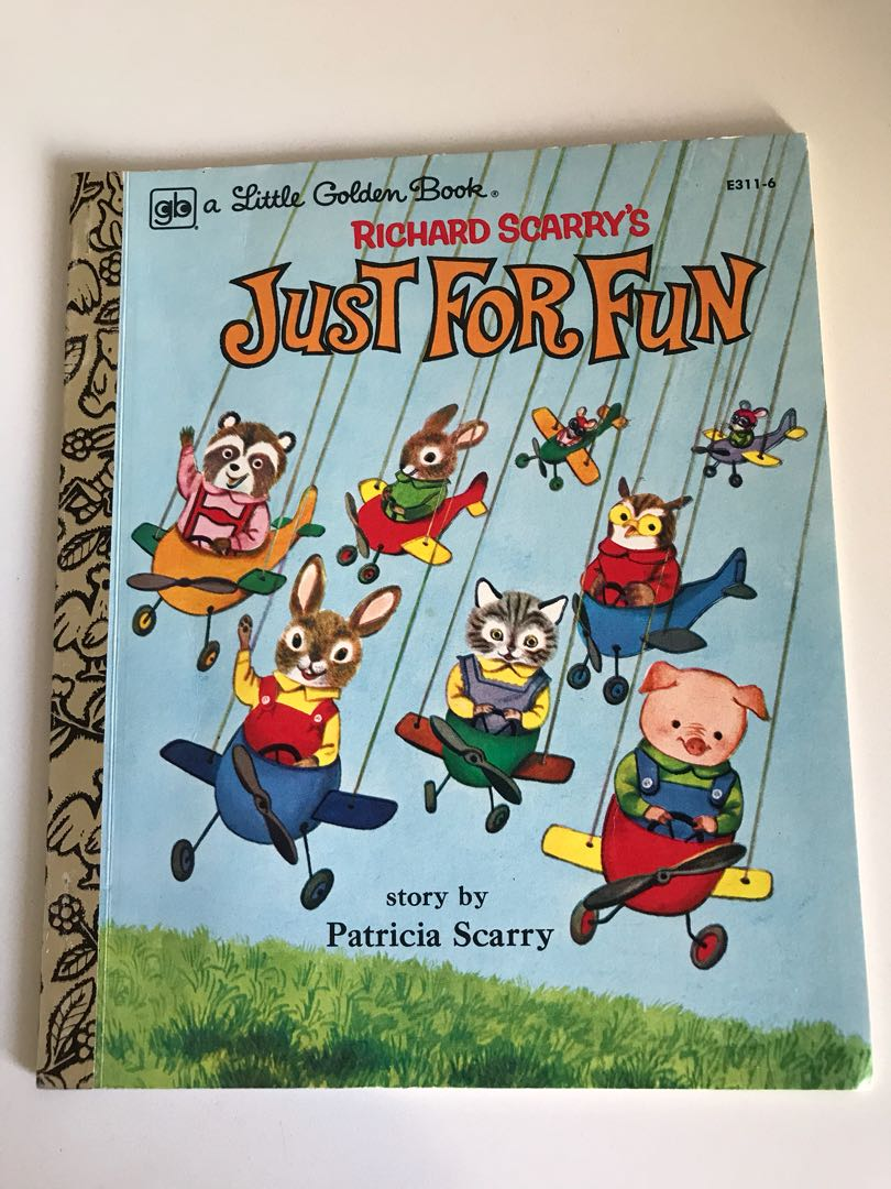 Richard Scarry's - Just For Fun - Little Golden Book