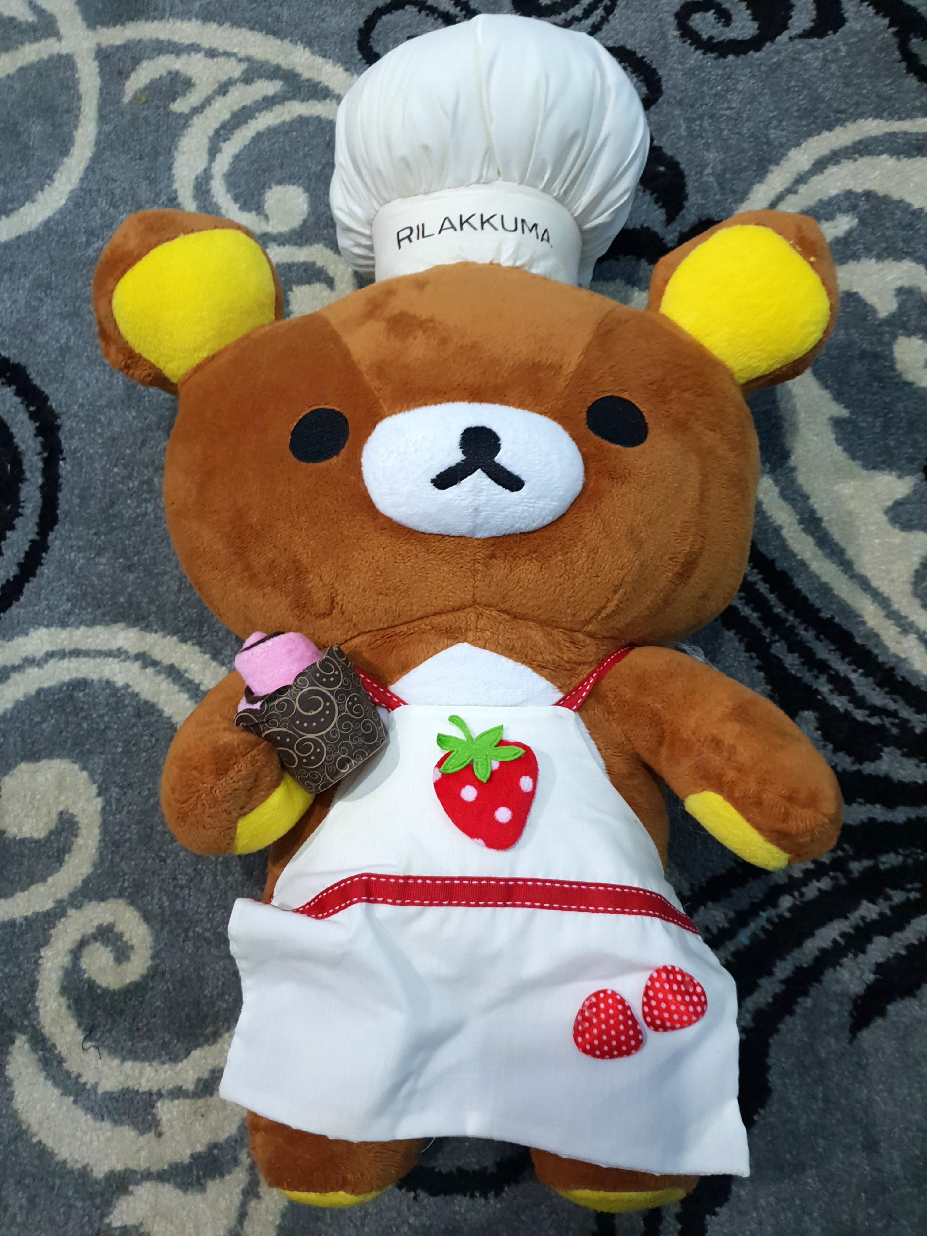 REPRICE Rilakkuma Doll Chef   Boneka Rilakuma 28fe3bdbec