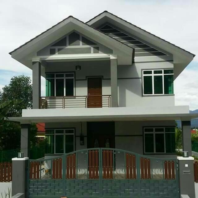 Gambar Rumah Banglo 2 Tingkat Inspirasi Dekorasi Rumah