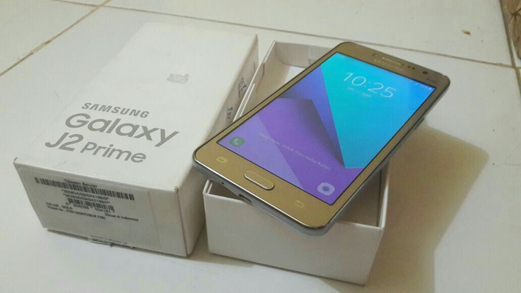 Samsung Galaxy J2 Prime Fullset Telepon Seluler Tablet Ponsel Android Di Carousell