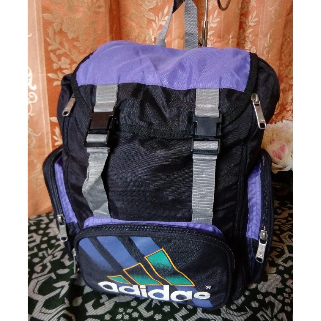 Vintage Adidas backpack 90an