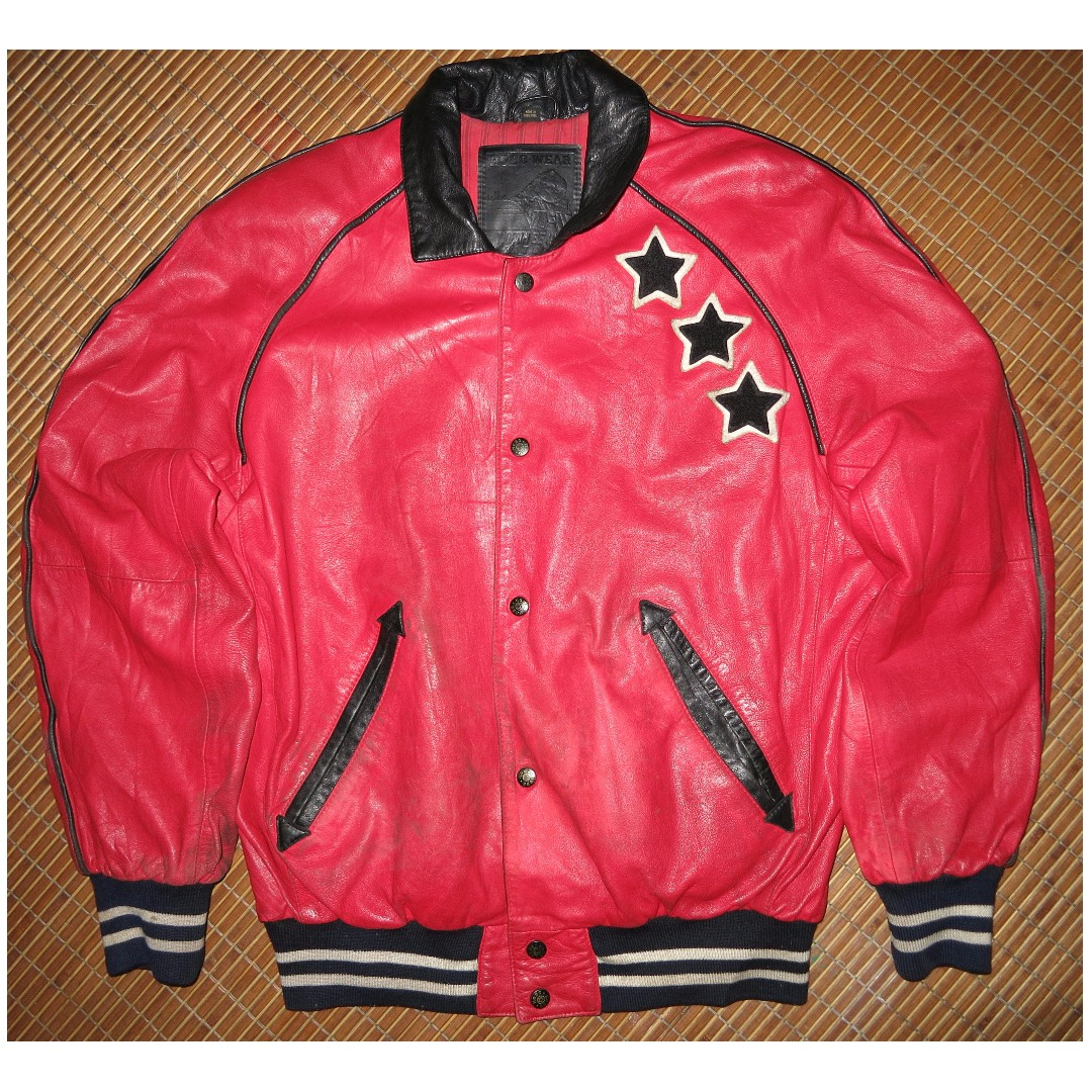 6d9c0324b VINTAGE LEATHER JACKET