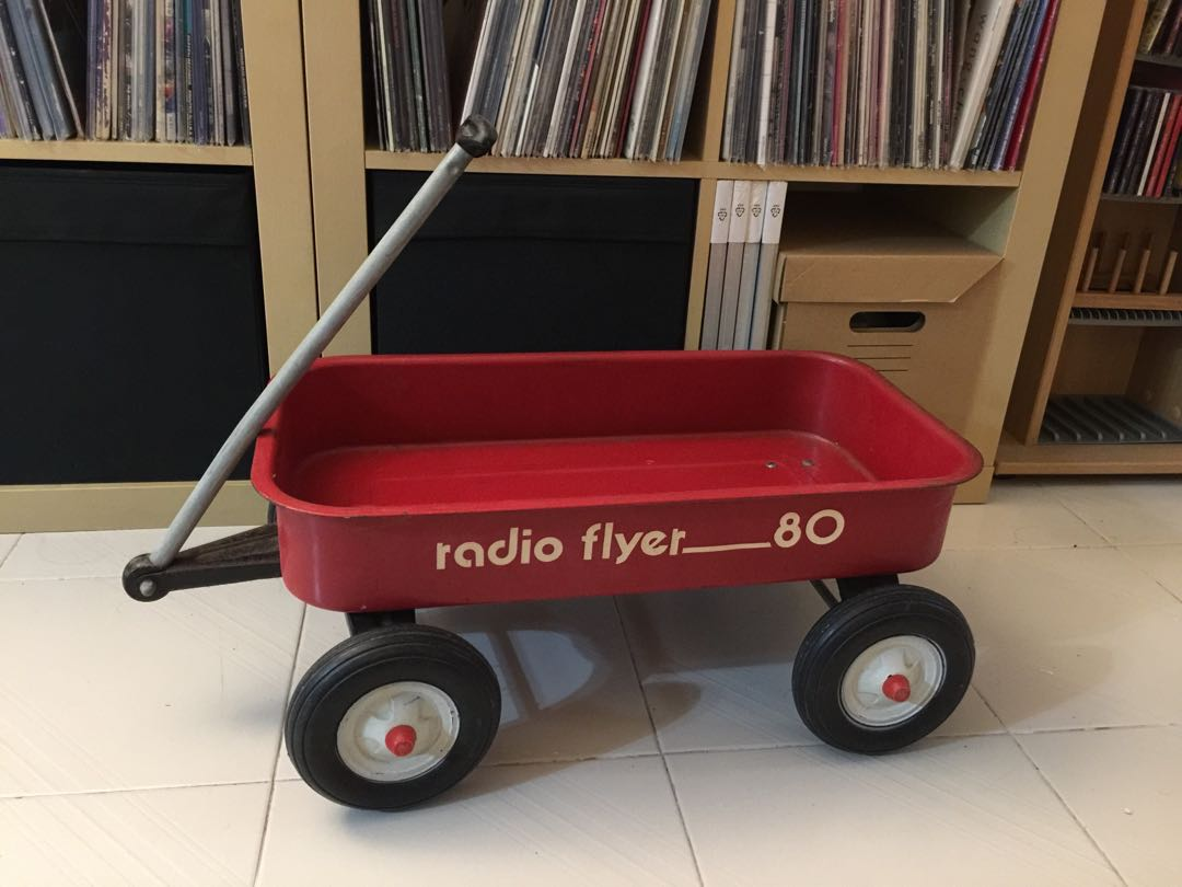 Vintage Metal Radio Flyer Wagon Toys Games Others On Carousell