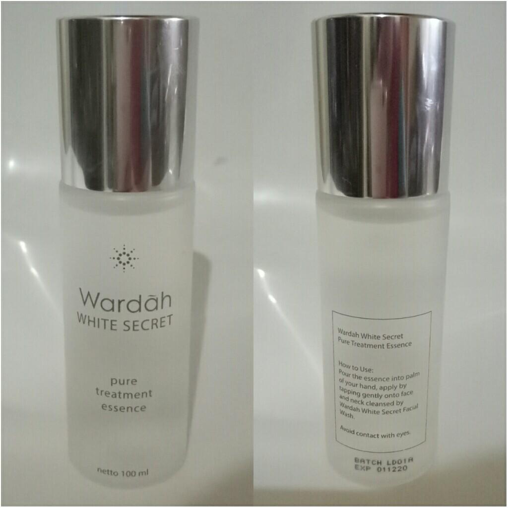 Wardah White Secret Pure Treatment Health Beauty Makeup On Carousell Essence