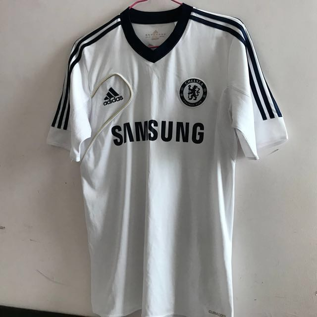 cheap for discount be24d d3c5c White Chelsea Jersey Adidas Samsung, Sports, Sports Apparel ...