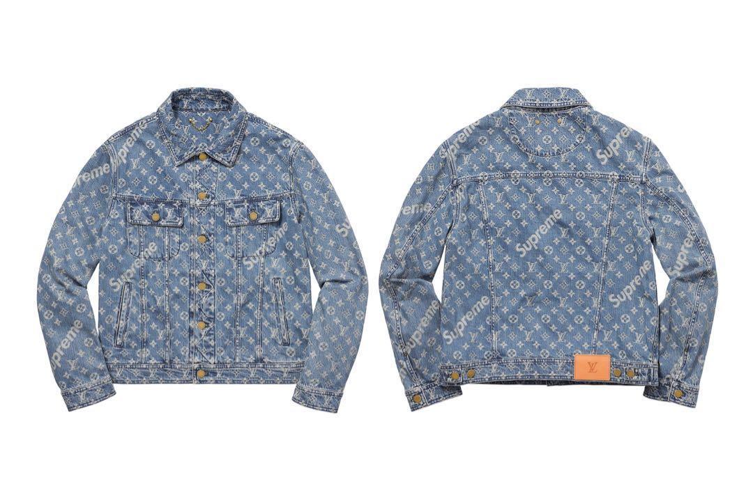2c3982fd088 WTB Supreme x Louis Vuitton Denim Jacket