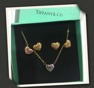 Tiffany&Co Necklace and ring set