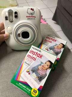 Hello Kitty fujifilm instax mini 25