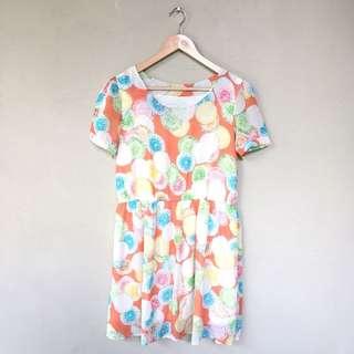 Polkadot Rainbow Dress