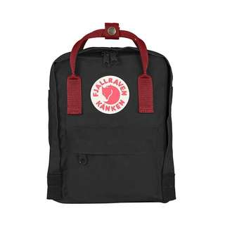 Brand New Kanken Black and Ox Red Straps