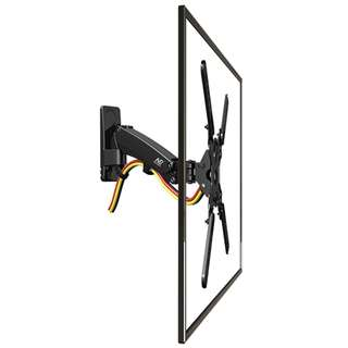 (F400) Gas Strut Full Motion TV Mount for TV up to 60″  Contact/Whatsapp me at 87209646