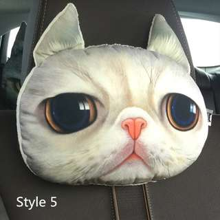 SOFT Headrest  pillow for  CAR  (Bantal Leher Kerusi Kereta :3 )